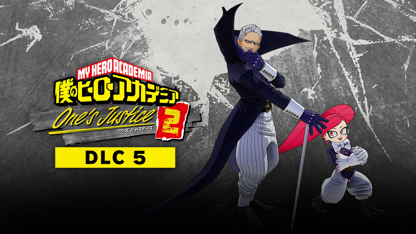 僕のヒーローアカデミア One's Justice2:プレイアブルキャラクター「ジェントル&ラブラバ」