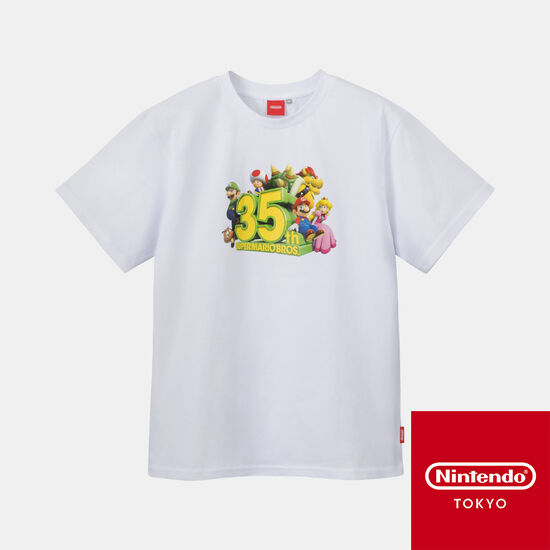 Tシャツ SUPER MARIO BROS. 35th【Nintendo TOKYO取り扱い商品】