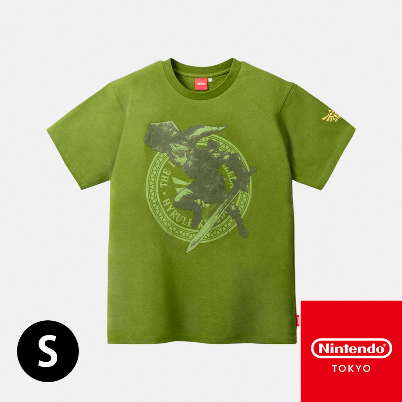 Tシャツ ゼルダの伝説 A S【Nintendo TOKYO取り扱い商品】