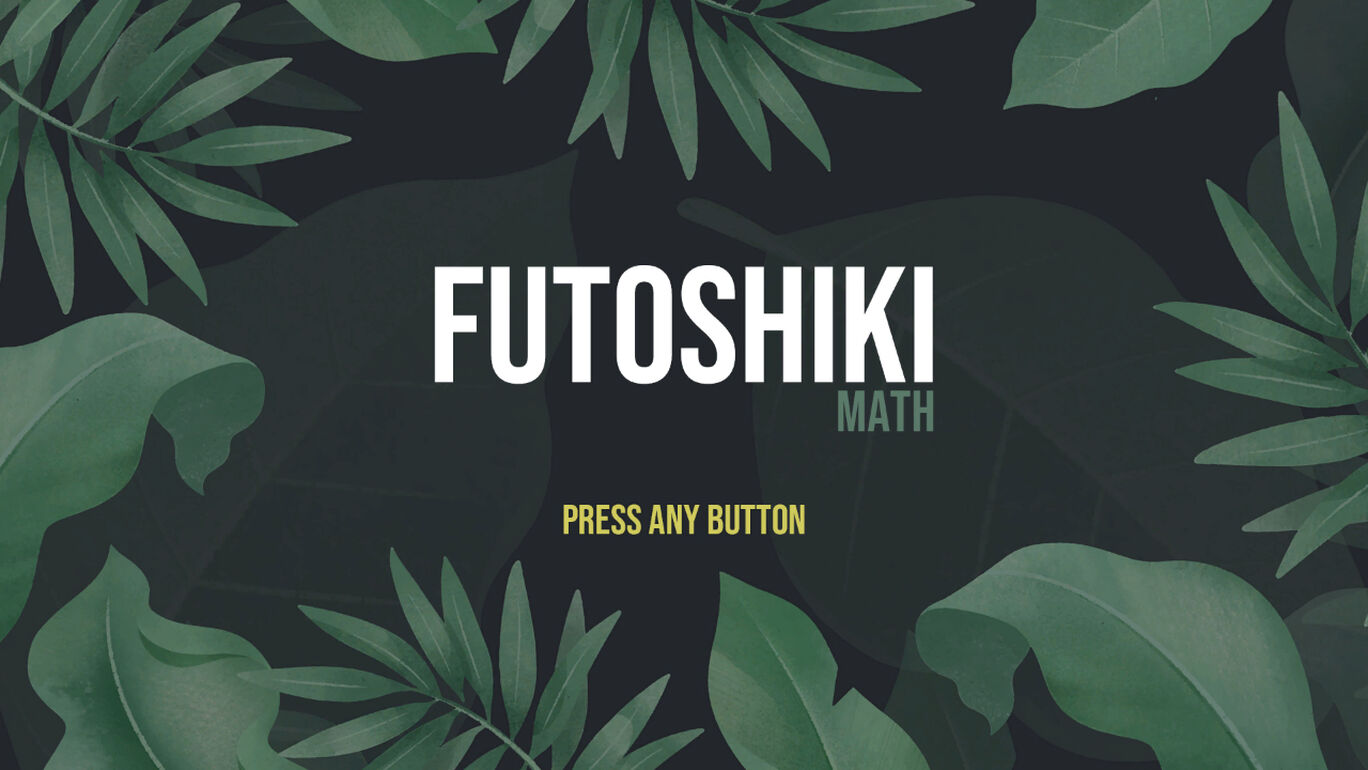 Futoshiki Math