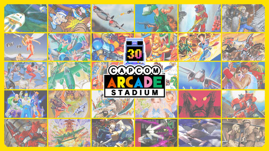 Capcom Arcade Stadium Packs 1, 2, 3セット