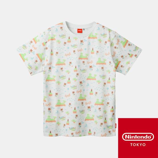 TシャツB あつまれ どうぶつの森【Nintendo TOKYO取り扱い商品】