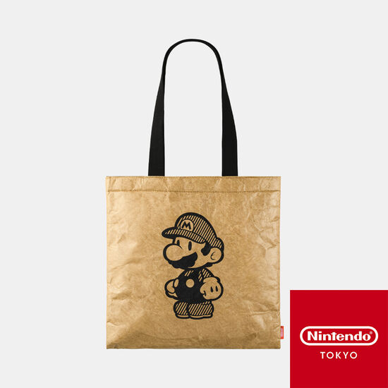 トートバッグ ペーパーマリオ オリガミキング【Nintendo TOKYO取り扱い商品】
