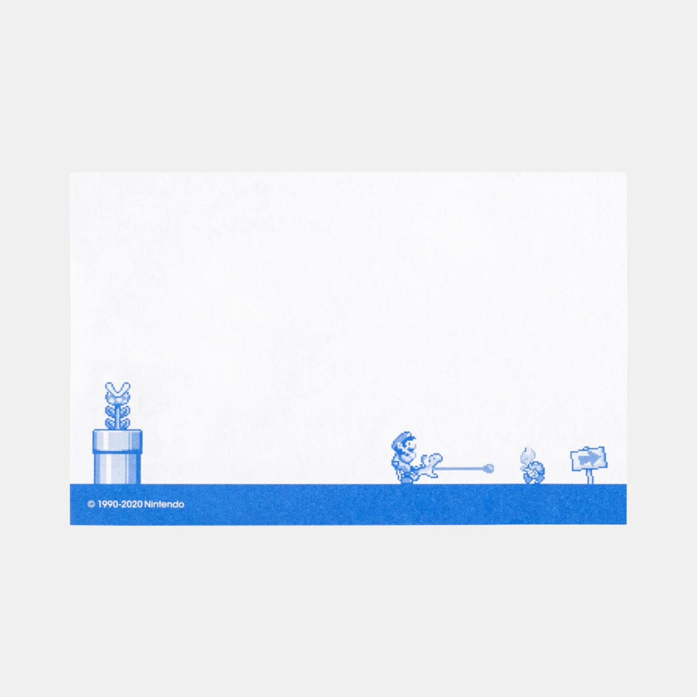 カセット型ケース付きメモ スーパーマリオワールド【Nintendo TOKYO取り扱い商品】