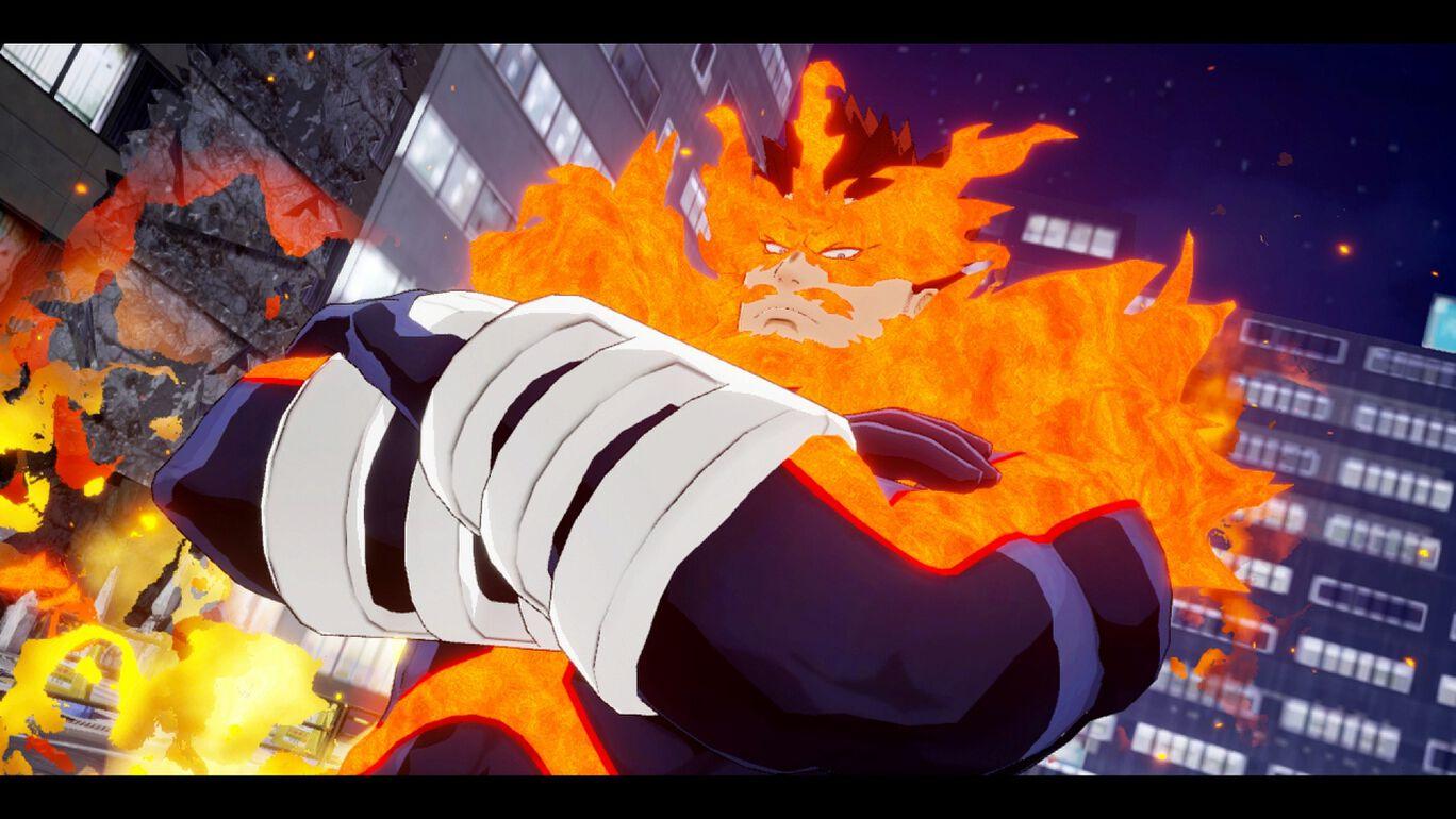 僕のヒーローアカデミア One's Justice:プレイアブルキャラ プロヒーロー エンデヴァー