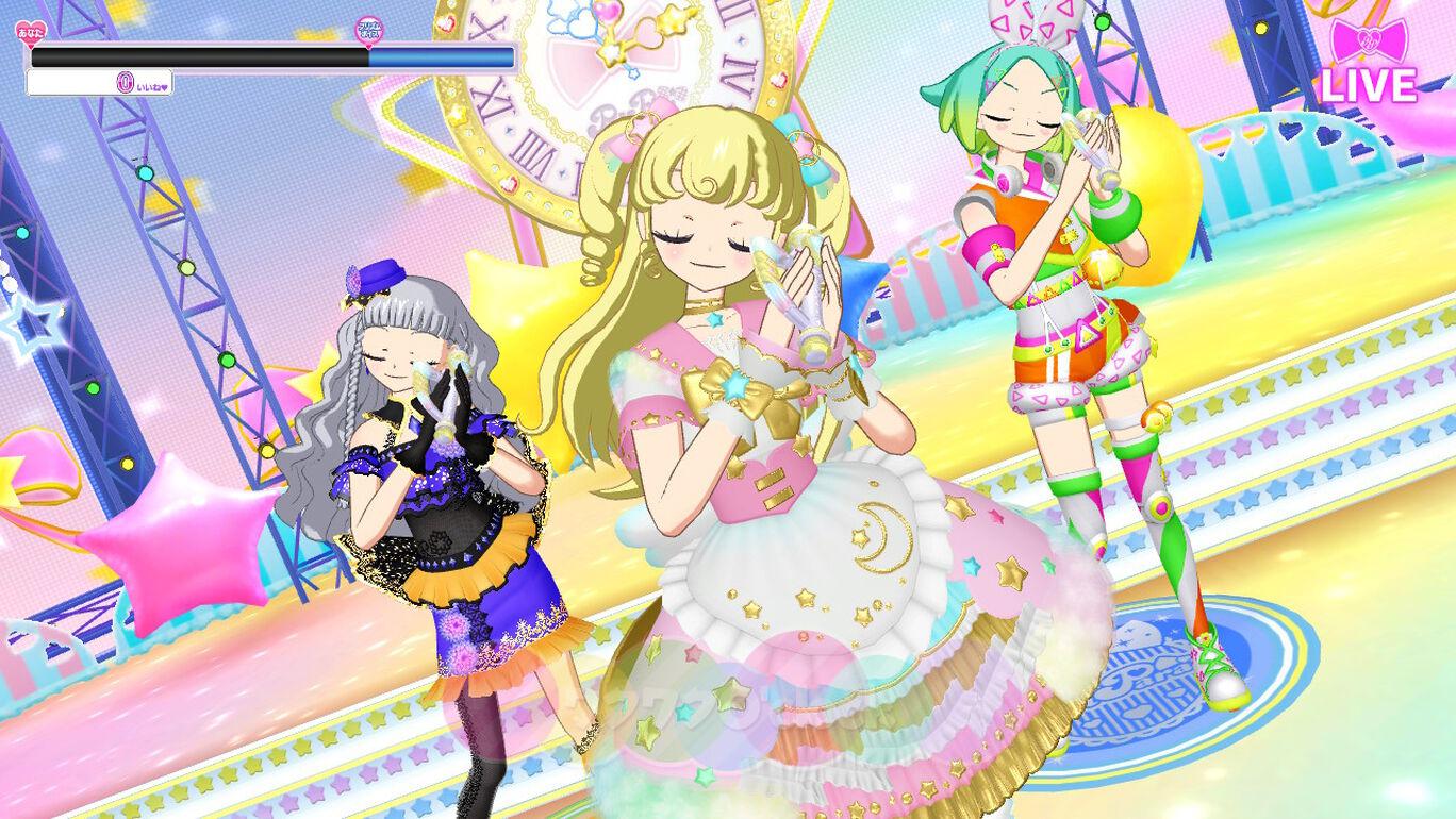 Nintendo Switch プリパラ オールアイドルパーフェクトステージ! 追加曲「ワクワクO'clock」(うた:ゆい・にの・みちる・しゅうか)