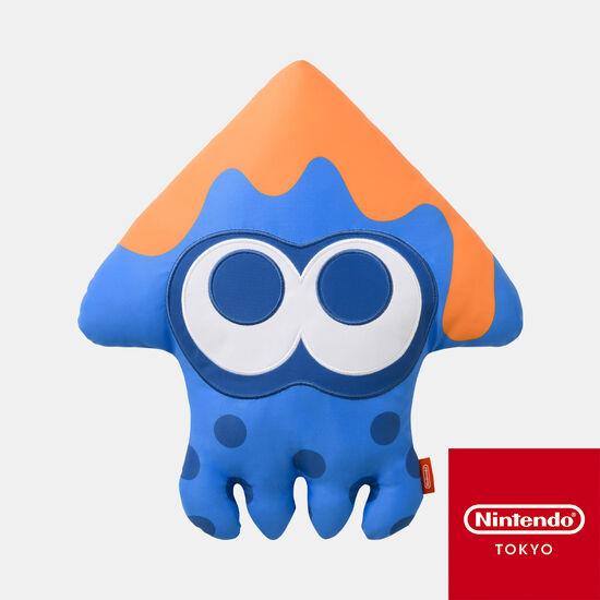 イカクッション ブルー INK YOU UP【Nintendo TOKYO取り扱い商品】