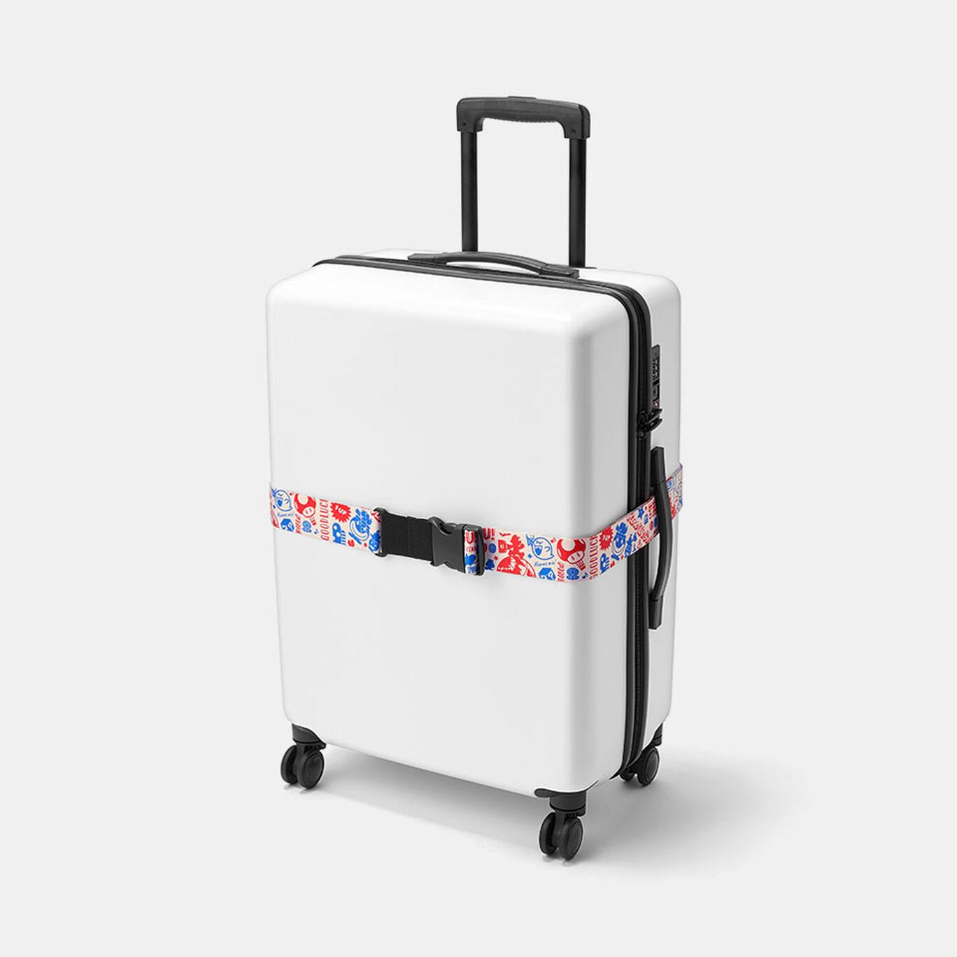 スーツケースベルト スーパーマリオ(オリジナルトラベル柄)