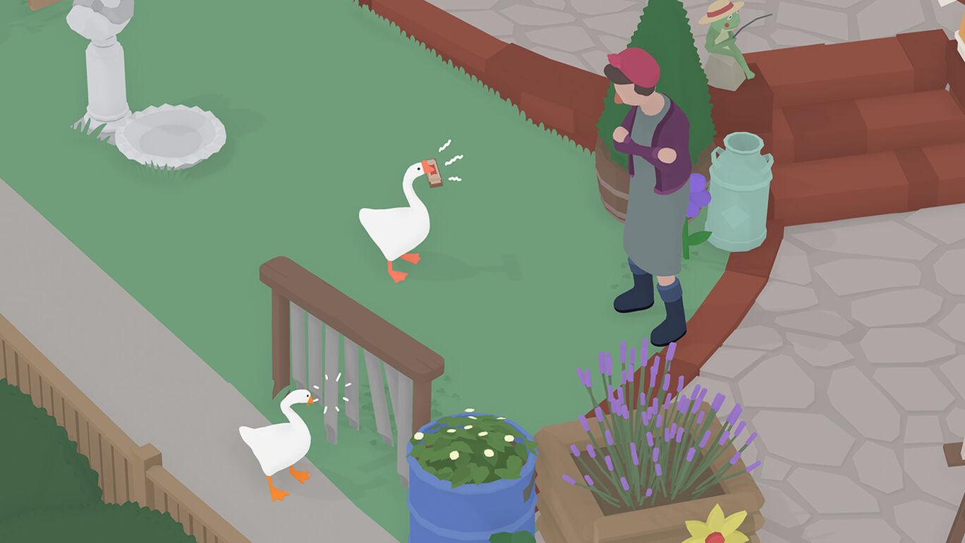 アン タイトル ド グース ゲーム アンタイルドグース #4 ガチョウが活躍するゲーム