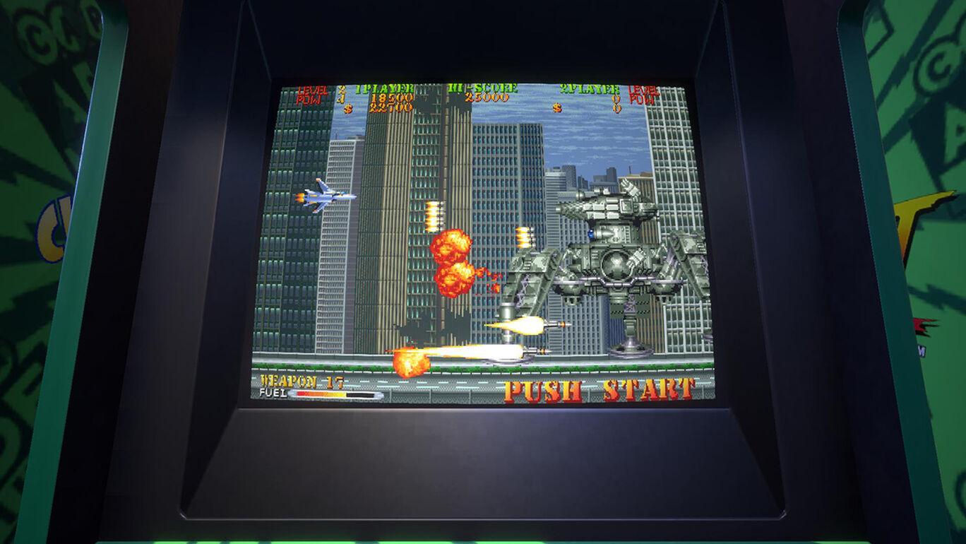 Capcom Arcade Stadium:U.S. Navy