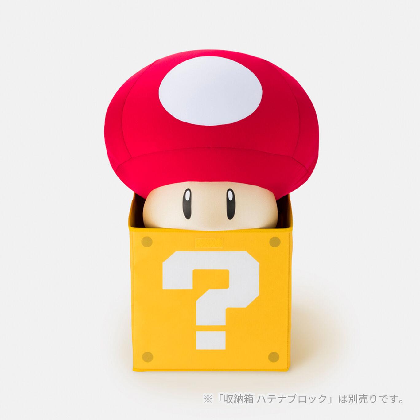 クッション スーパーマリオ スーパーキノコ【Nintendo TOKYO取り扱い商品】
