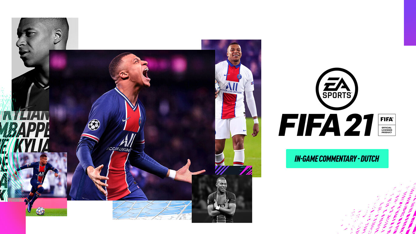 「FIFA 21」ゲーム内実況解説 – オランダ語