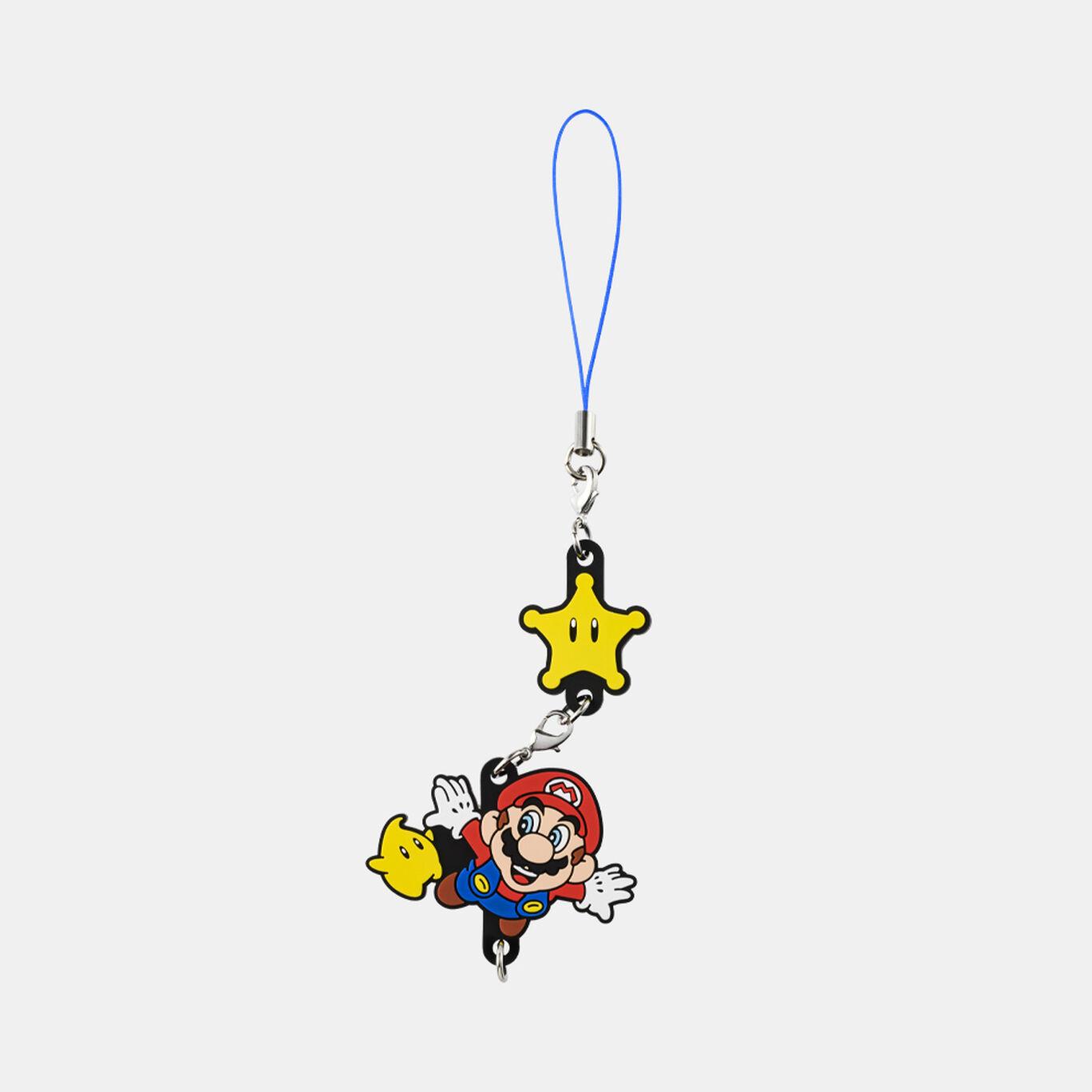 つながるラバーストラップ スーパーマリオ 3Dコレクション スーパーマリオギャラクシー【Nintendo TOKYO取り扱い商品】