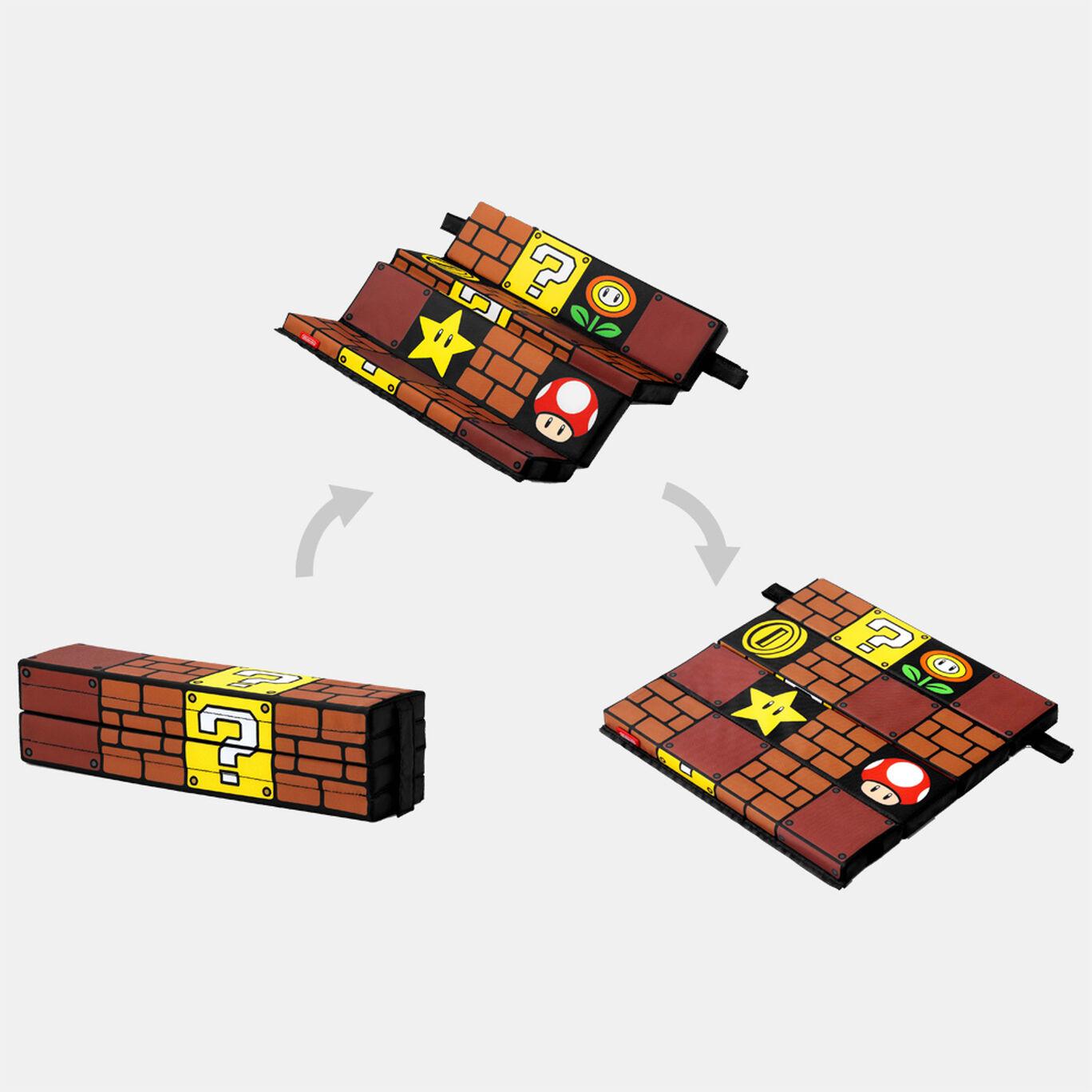 【新商品】スーパーマリオ トラベル 折りたたみクッション(ブロック)