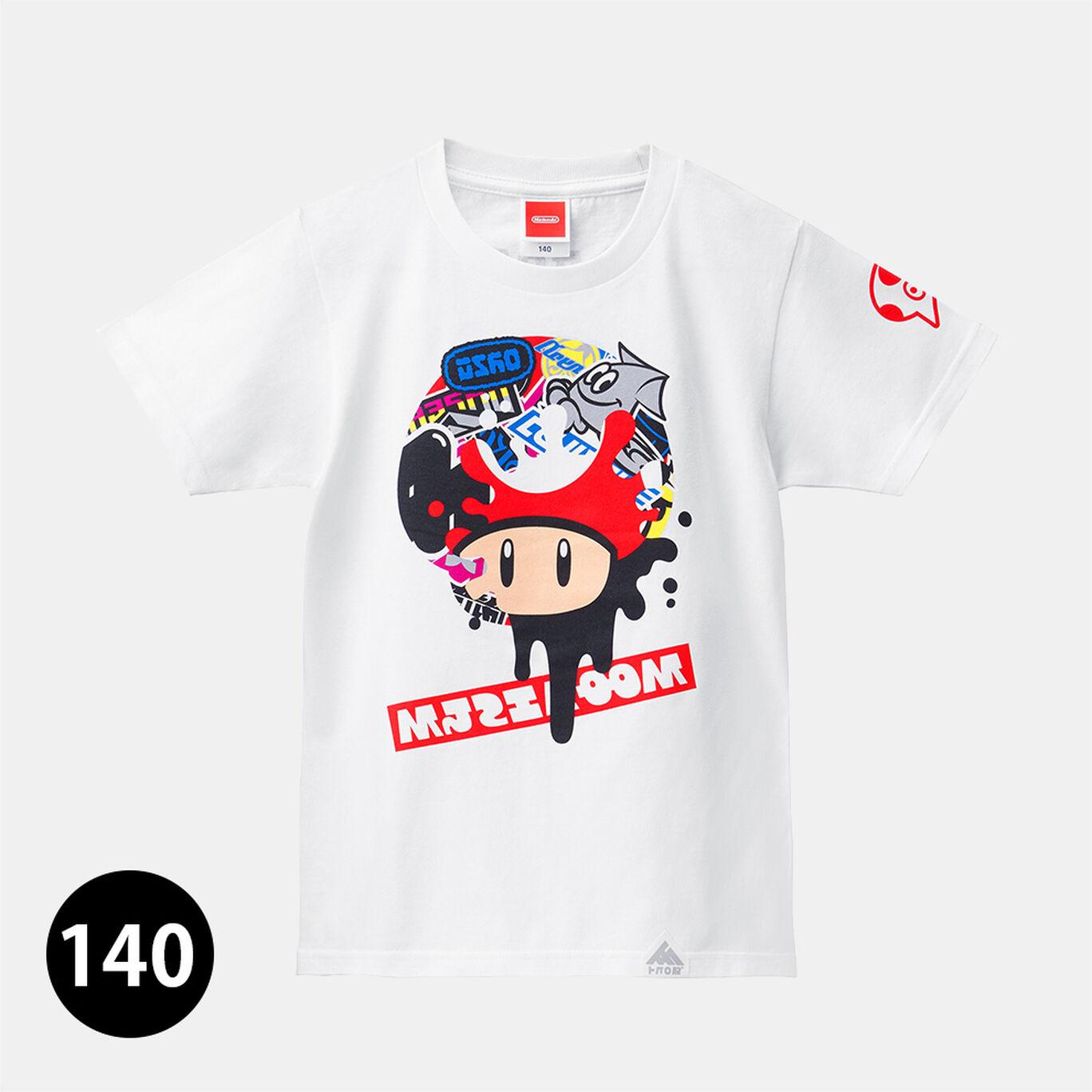 【140cmサイズ】スプラトゥーン2 フェスTシャツ スーパーキノコ【12月下旬以降お届け】