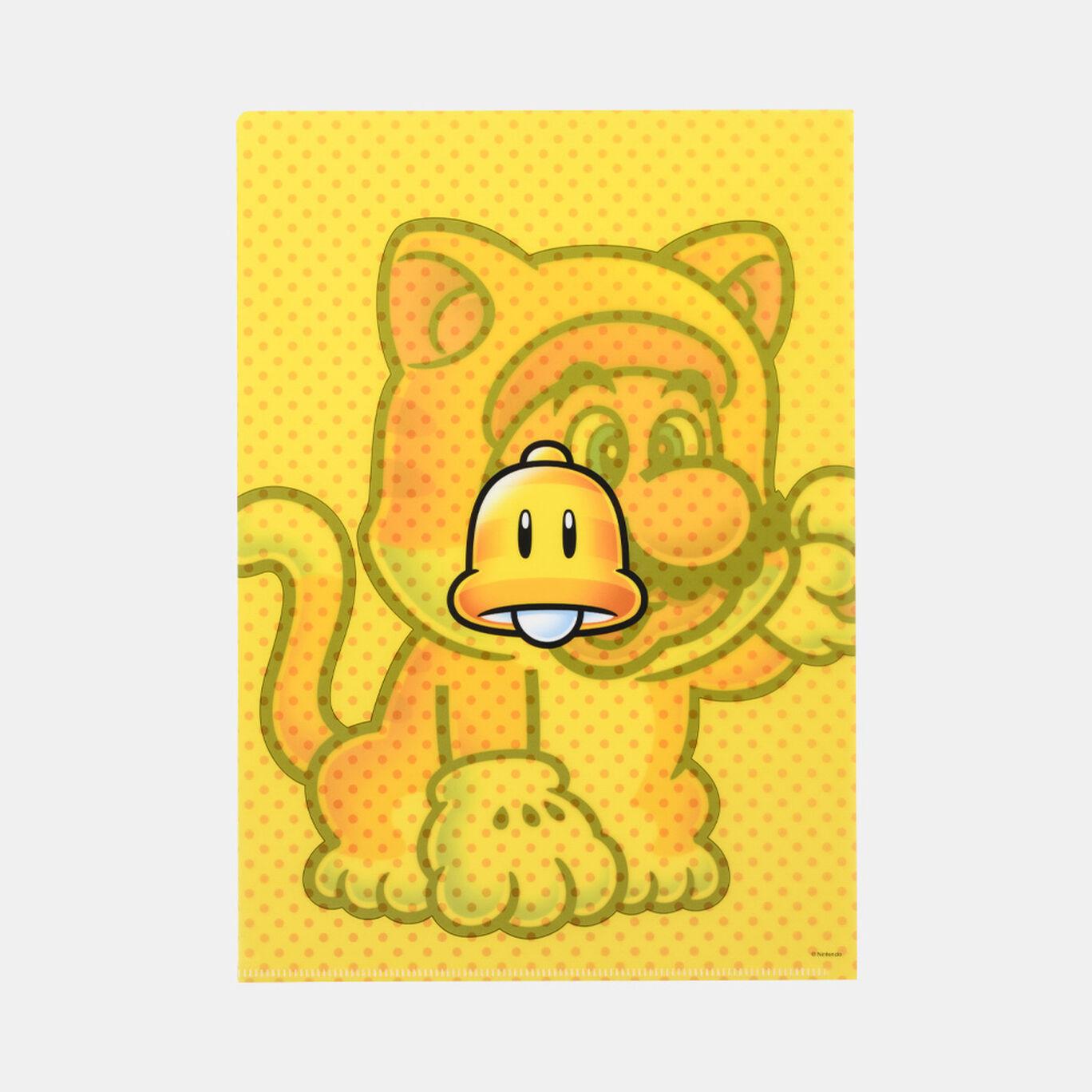 クリアファイル スーパーマリオ パワーアップ E【Nintendo TOKYO取り扱い商品】