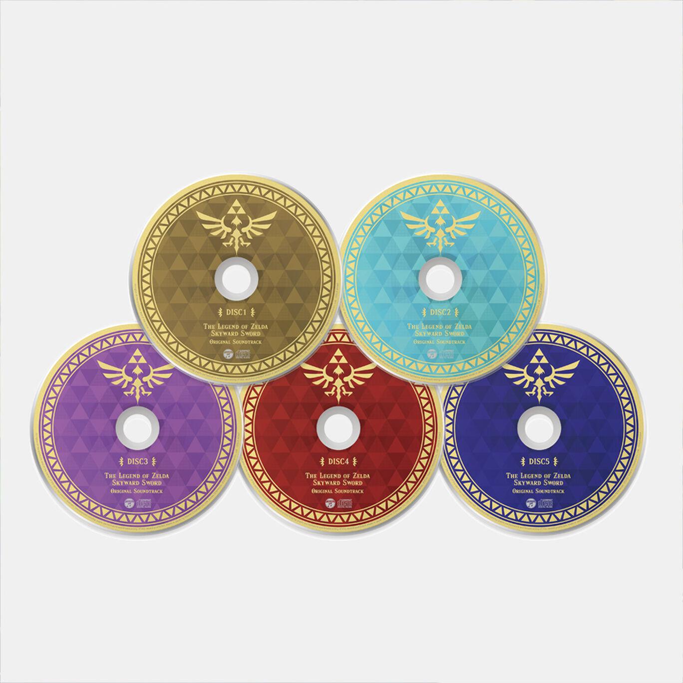 【新商品】「ゼルダの伝説 スカイウォードソード」オリジナルサウンドトラック【通常盤】