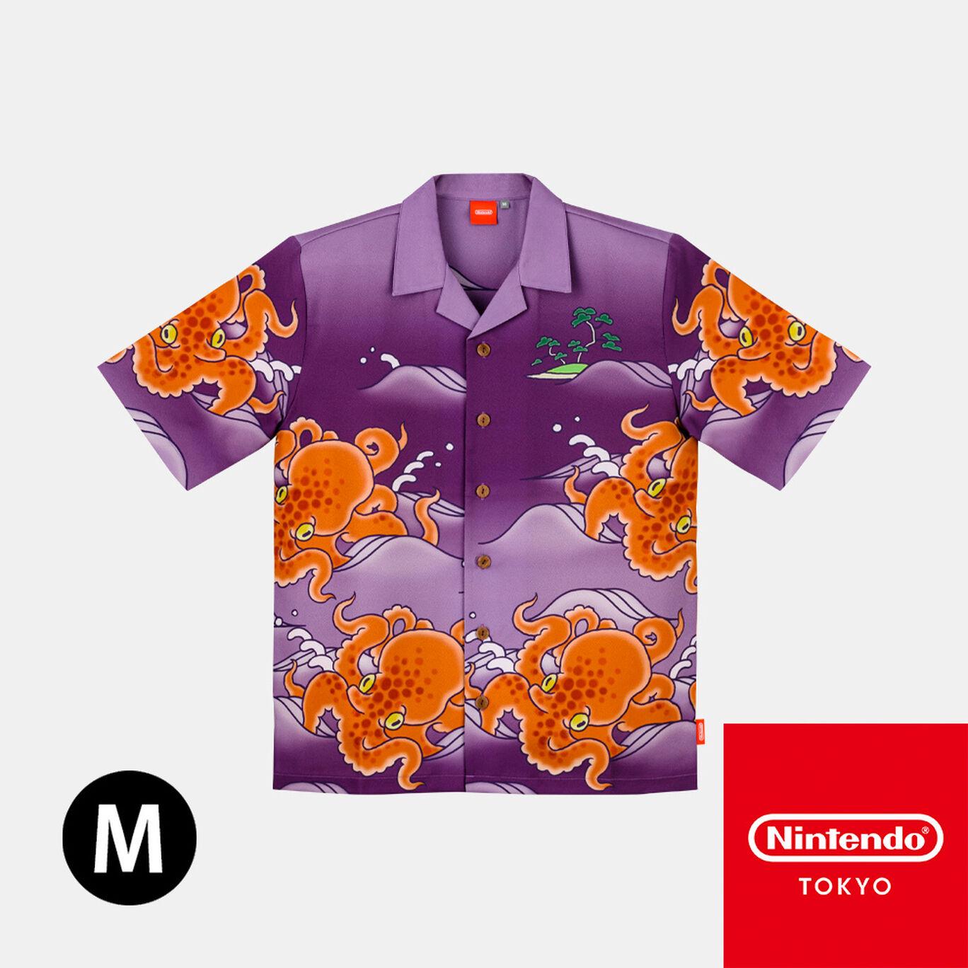 チリメンタコアロハM Splatoon【Nintendo TOKYO取り扱い商品】
