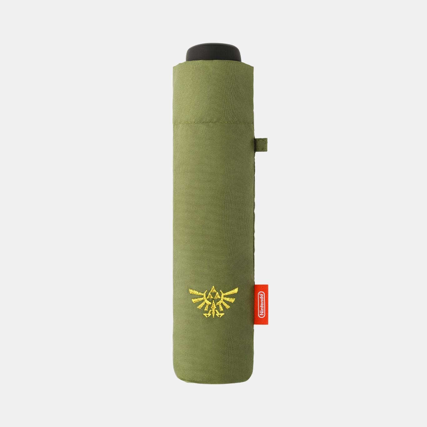【新商品】折りたたみ傘 グリーン ゼルダの伝説【Nintendo TOKYO取り扱い商品】