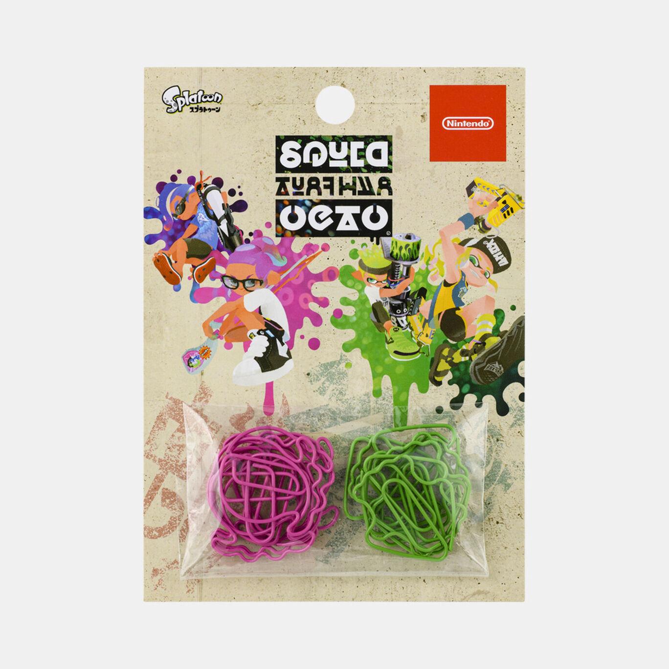 クリップ SQUID or OCTO Splatoon【Nintendo TOKYO取り扱い商品】