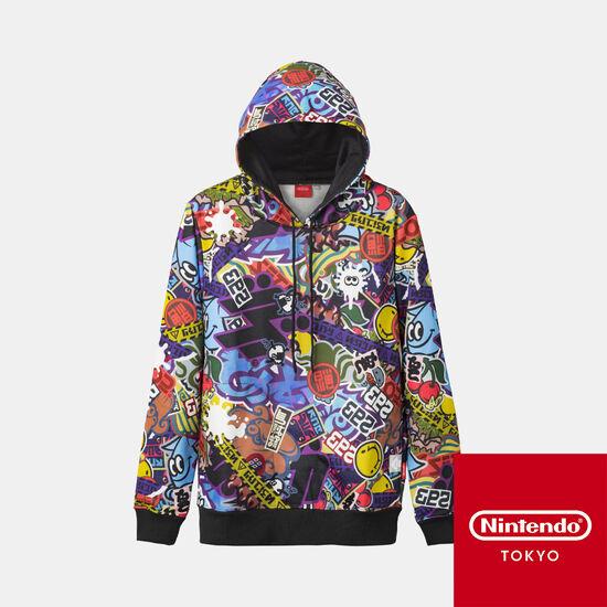 パーカー CROSSING SPLATOON 【Nintendo TOKYO取り扱い商品】