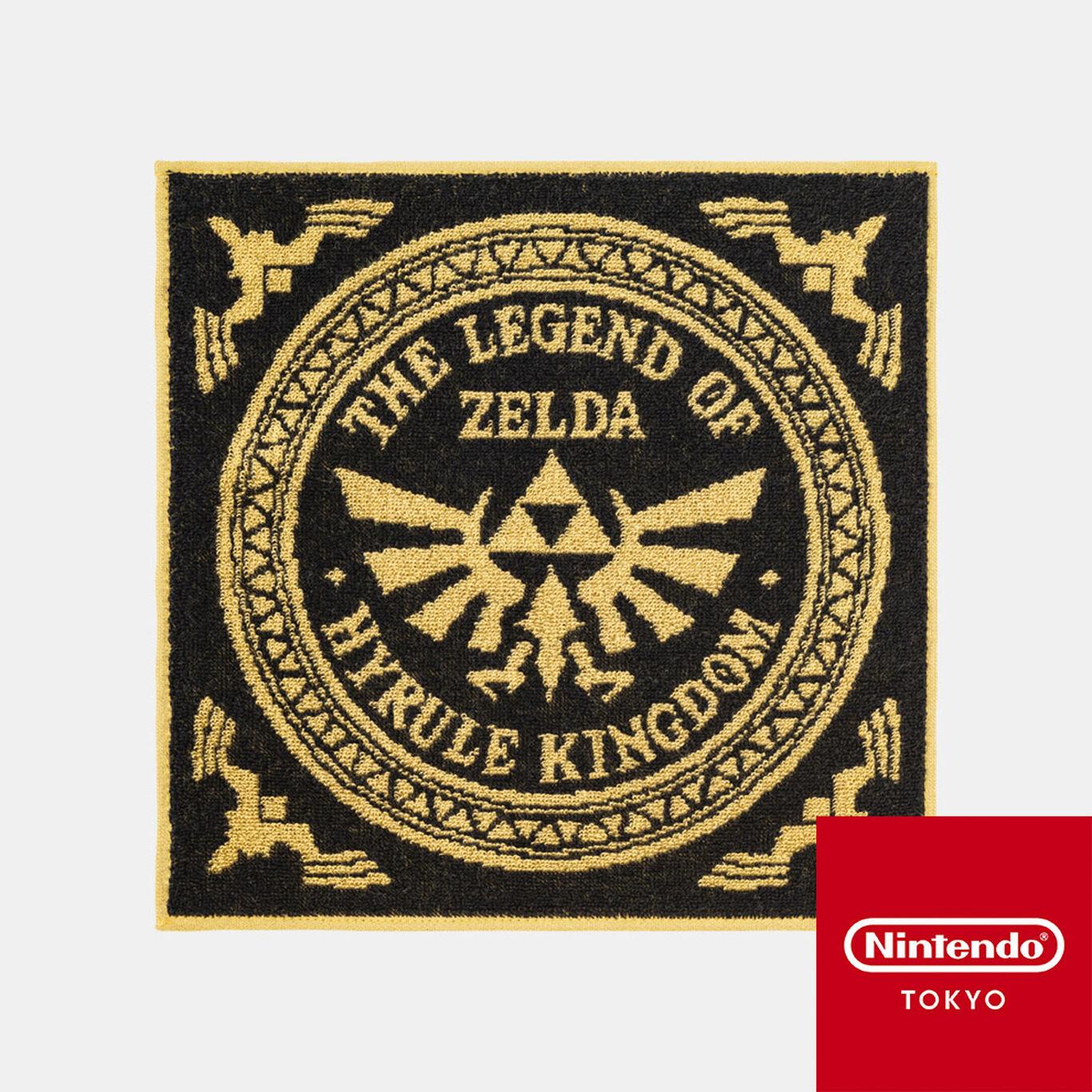 ハンドタオル ゼルダの伝説 A【Nintendo TOKYO取り扱い商品】
