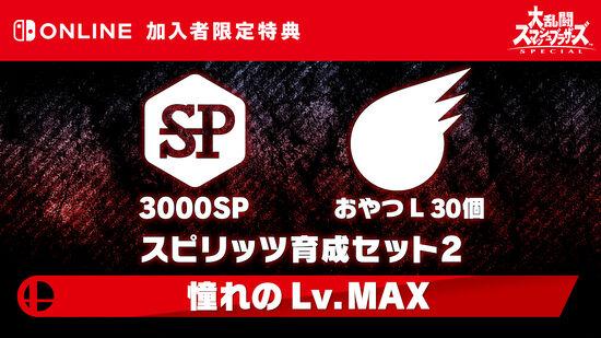 スピリッツ育成セット2 ~憧れの Lv. MAX~