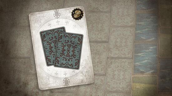 Voice of Cards ドラゴンの島 エミールの装束模様