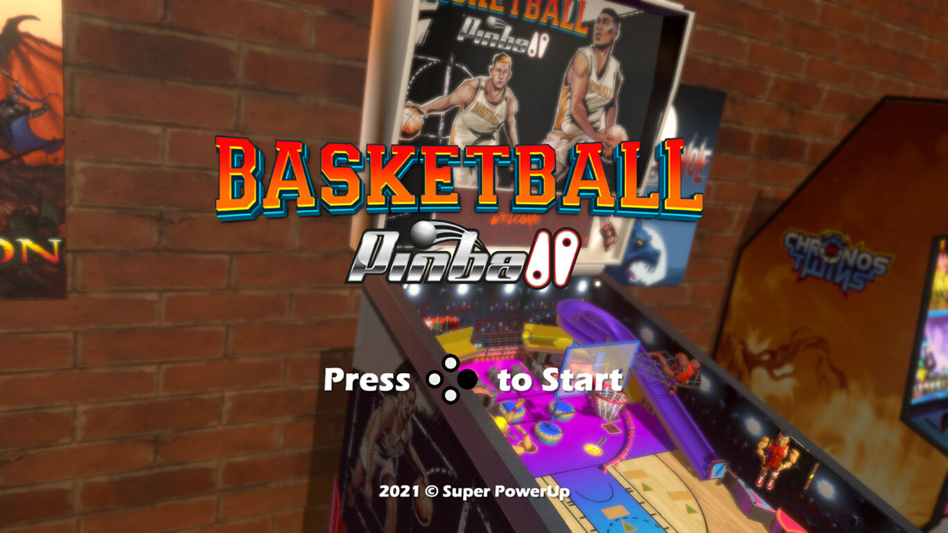 バスケットボールピンボール