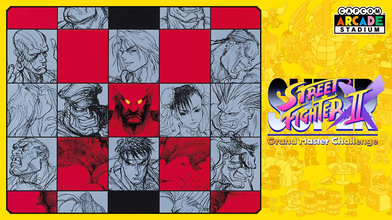 Capcom Arcade Stadium:スーパーストリートファイターIIX - Grand Master Challenge -