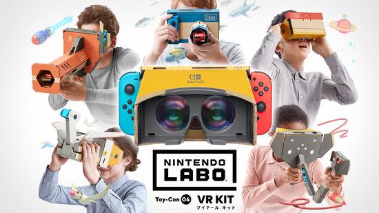 Nintendo Labo Toy-Con 04: VR Kit(VRキット)