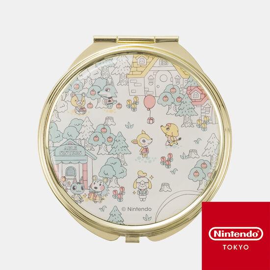 コンパクトミラー どうぶつの森 A【Nintendo TOKYO取り扱い商品】