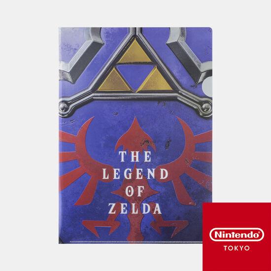 クリアファイル ゼルダの伝説 A【Nintendo TOKYO取り扱い商品】