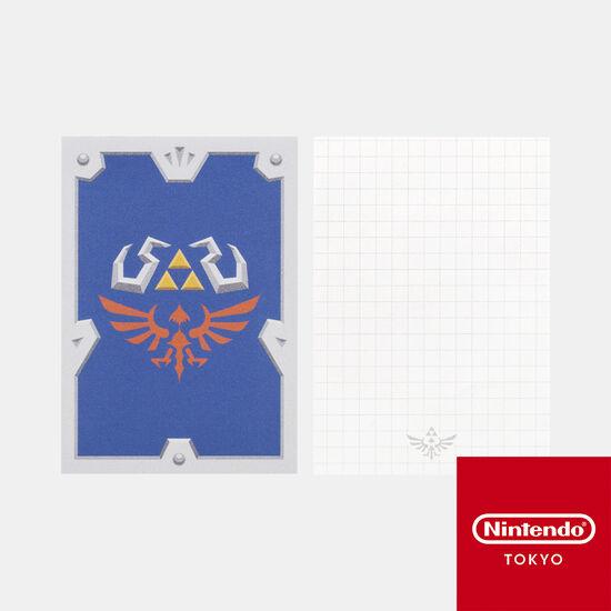 メモ ハイリアの盾 ゼルダの伝説 スカイウォードソード HD【Nintendo TOKYO取り扱い商品】
