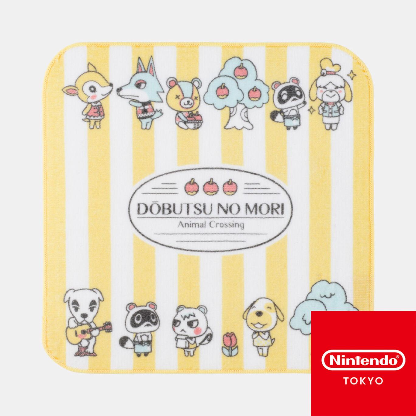 タオルハンカチ どうぶつの森【Nintendo TOKYO取り扱い商品】