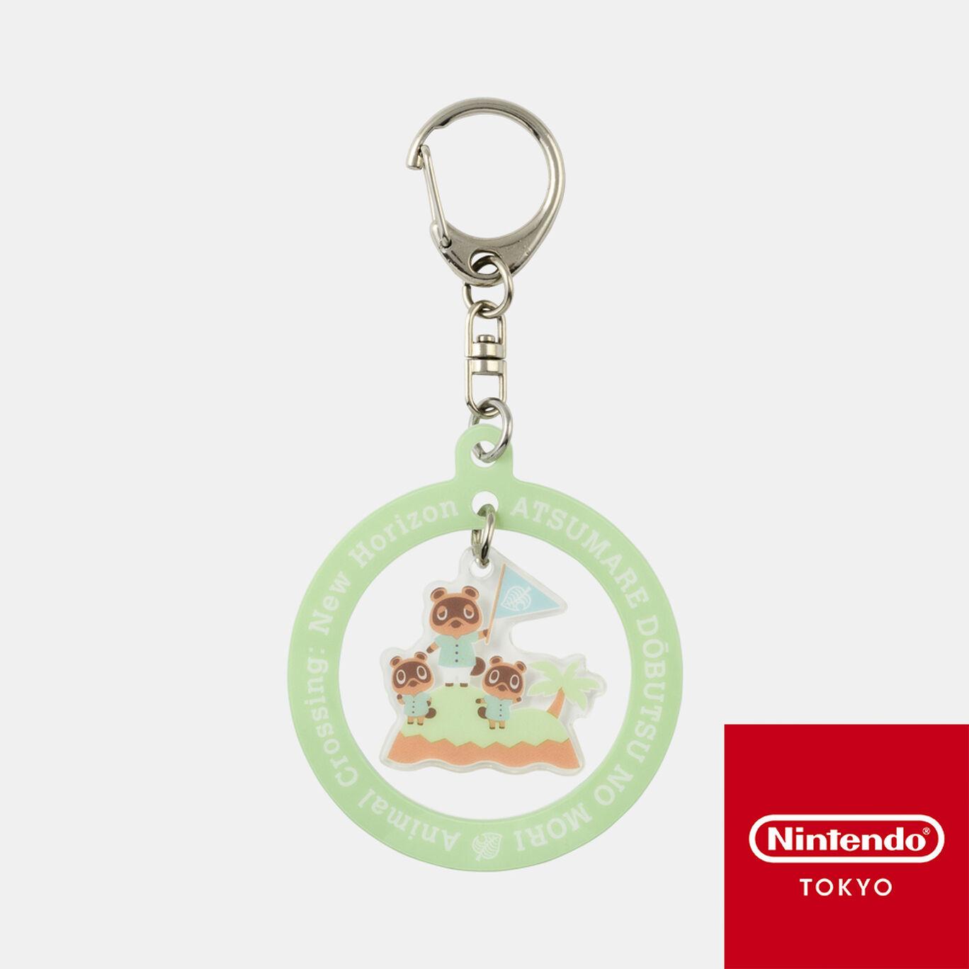 アクリルキーホルダー あつまれ どうぶつの森【Nintendo TOKYO取り扱い商品】