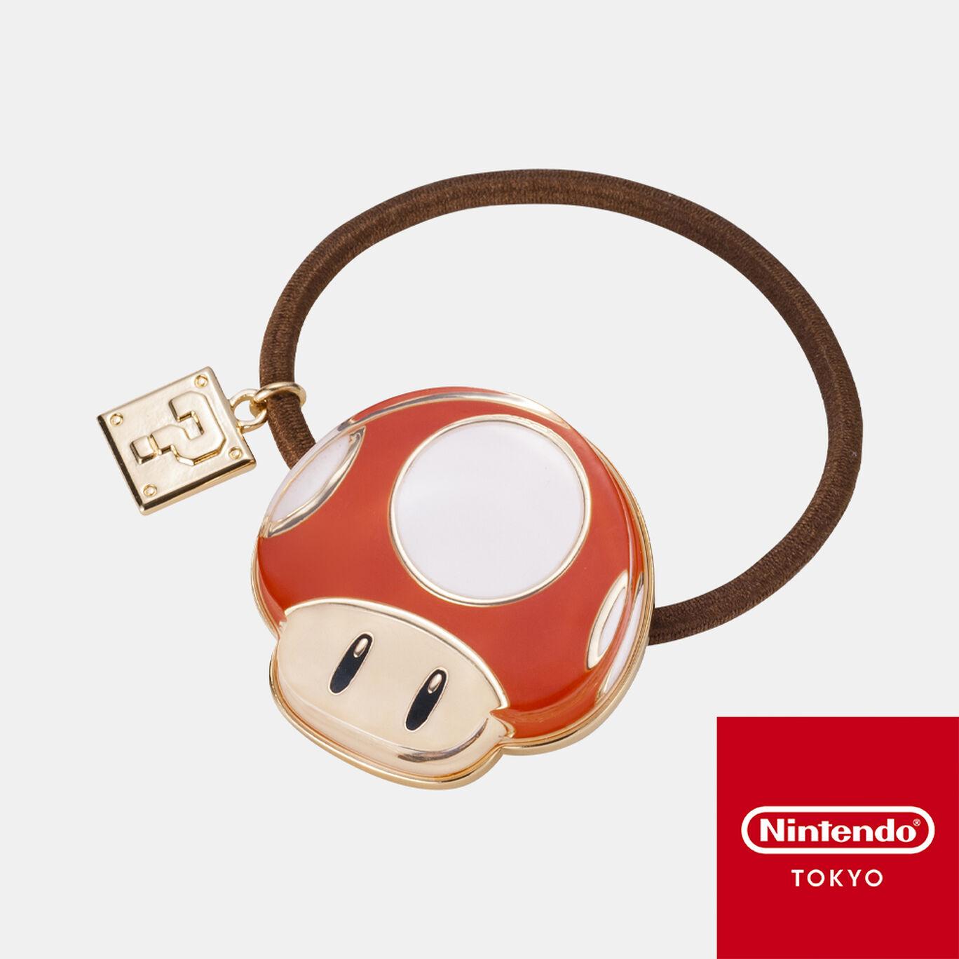 ヘアゴム スーパーマリオ A【Nintendo TOKYO取り扱い商品】