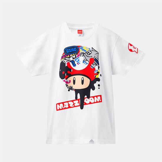 【12月下旬以降お届け】スプラトゥーン2 フェスTシャツ スーパーキノコ