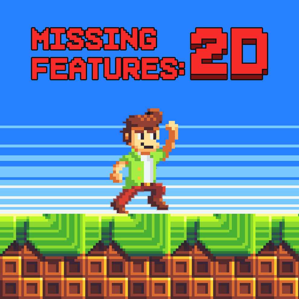 Missing Features: 2D