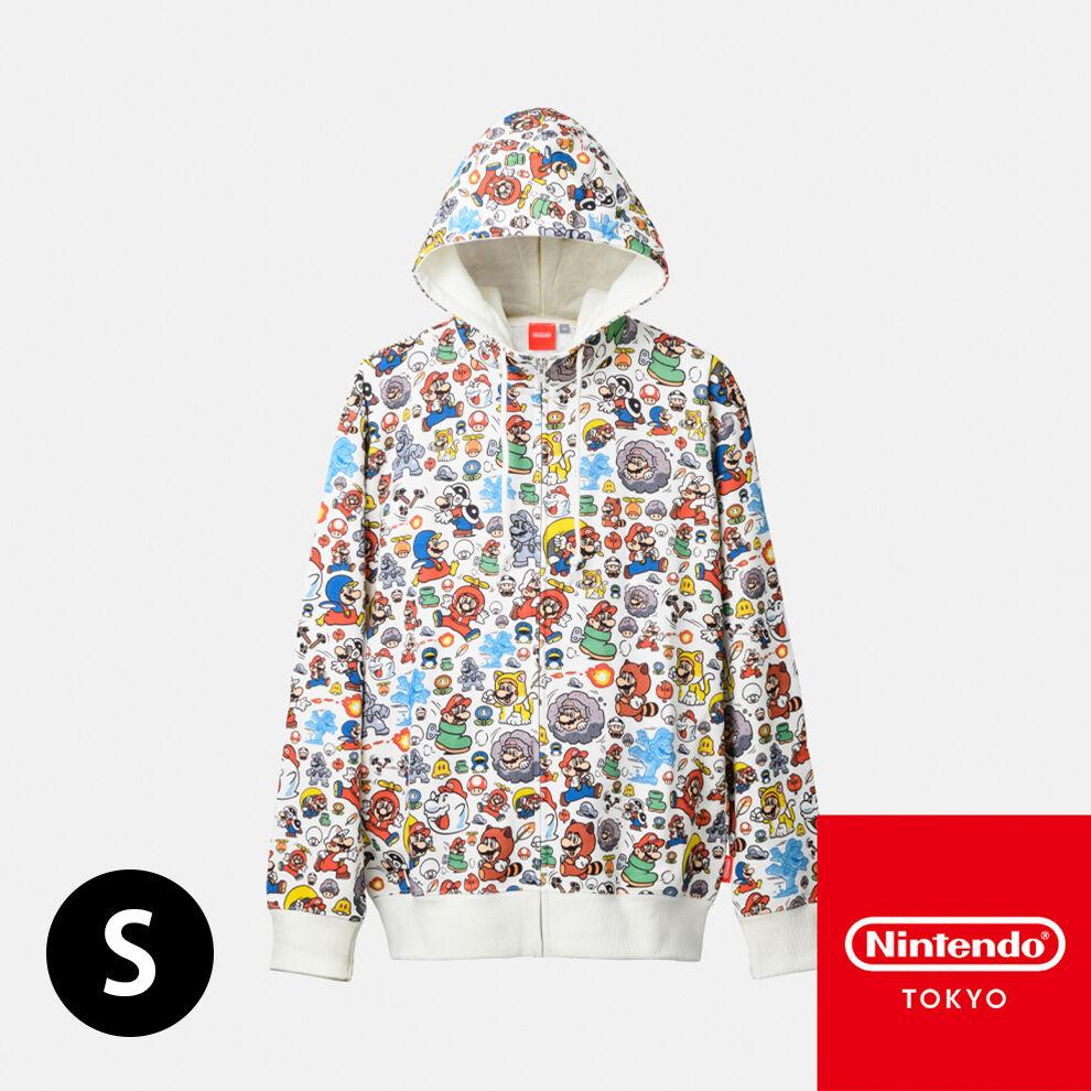 パーカー スーパーマリオ パワーアップ S【Nintendo TOKYO取り扱い商品】