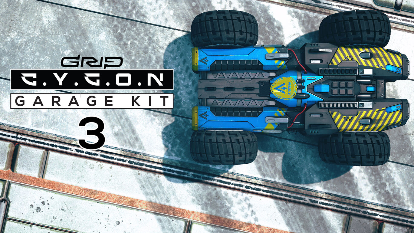 追加コンテンツ「Cygonガレージキット3」