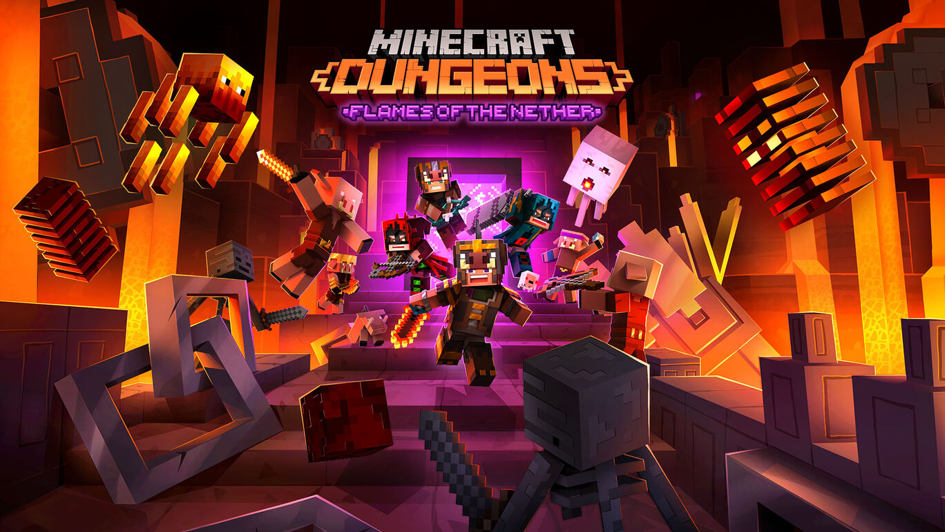 Minecraft Dungeons: Flames of the Nether (ネザーの炎)