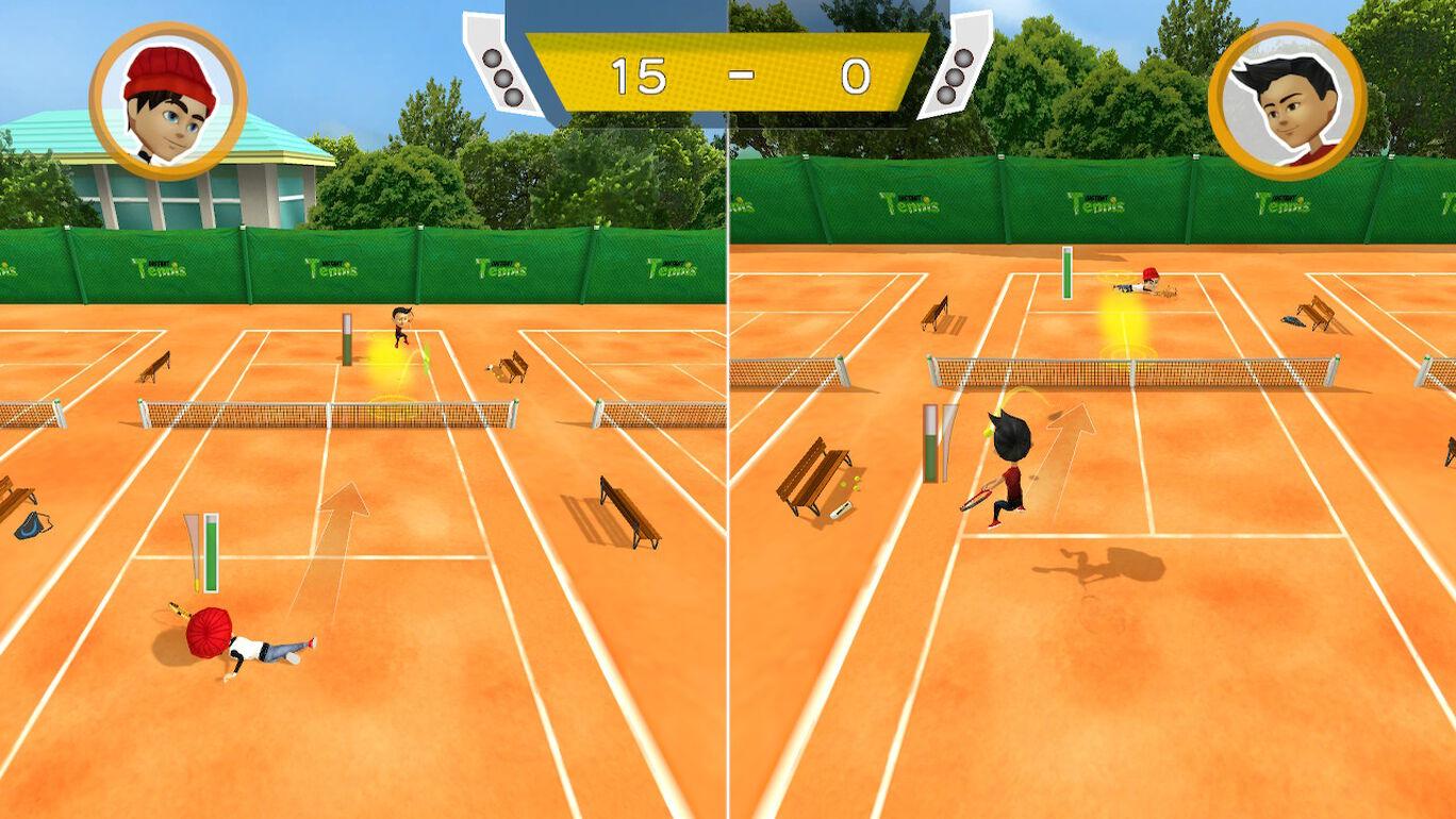 わいわい!ナイスショットテニス