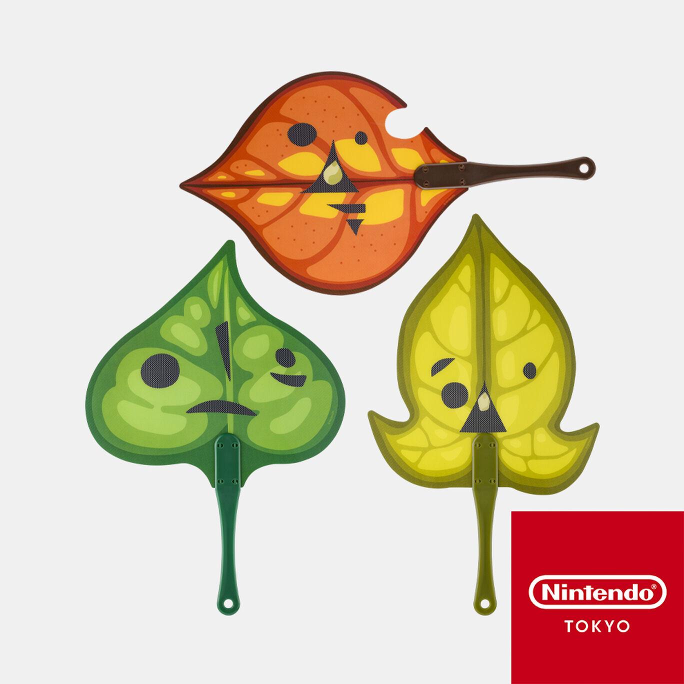 【新商品】コログ うちわセット ゼルダの伝説【Nintendo TOKYO取り扱い商品】