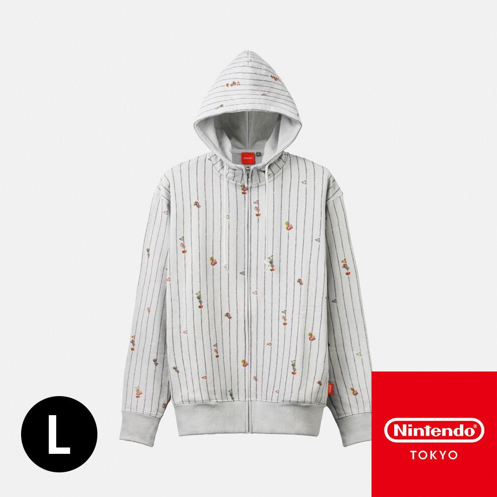 パーカー  スーパーマリオファミリーライフ L【Nintendo TOKYO取り扱い商品】