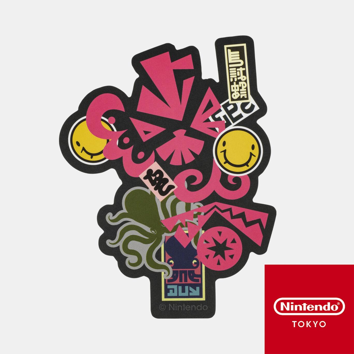 ステッカー CROSSING SPLATOON F【Nintendo TOKYO取り扱い商品】