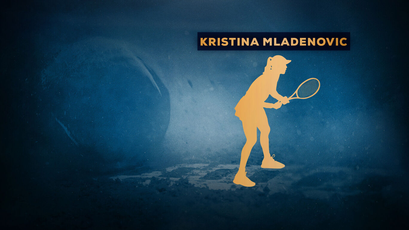 追加選手:Kristina Mladenovic