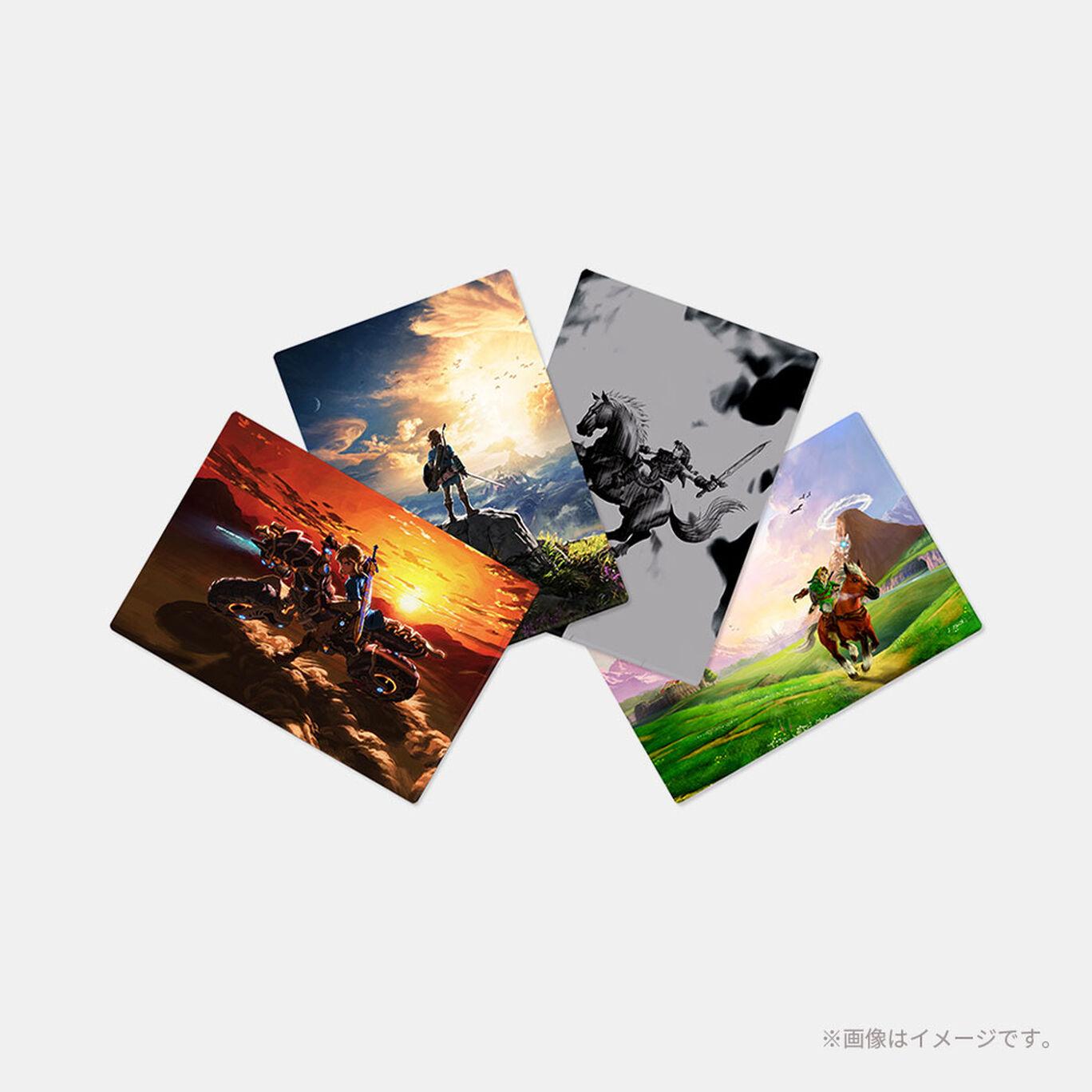 ゼルダの伝説 A4クリアファイル(4枚セット)