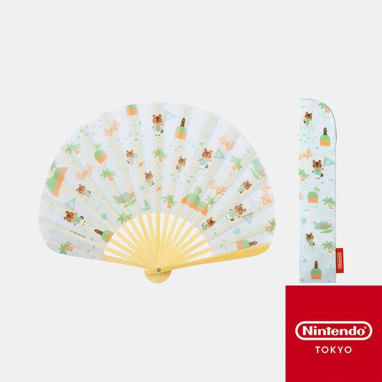 扇子 あつまれ どうぶつの森【Nintendo TOKYO取り扱い商品】