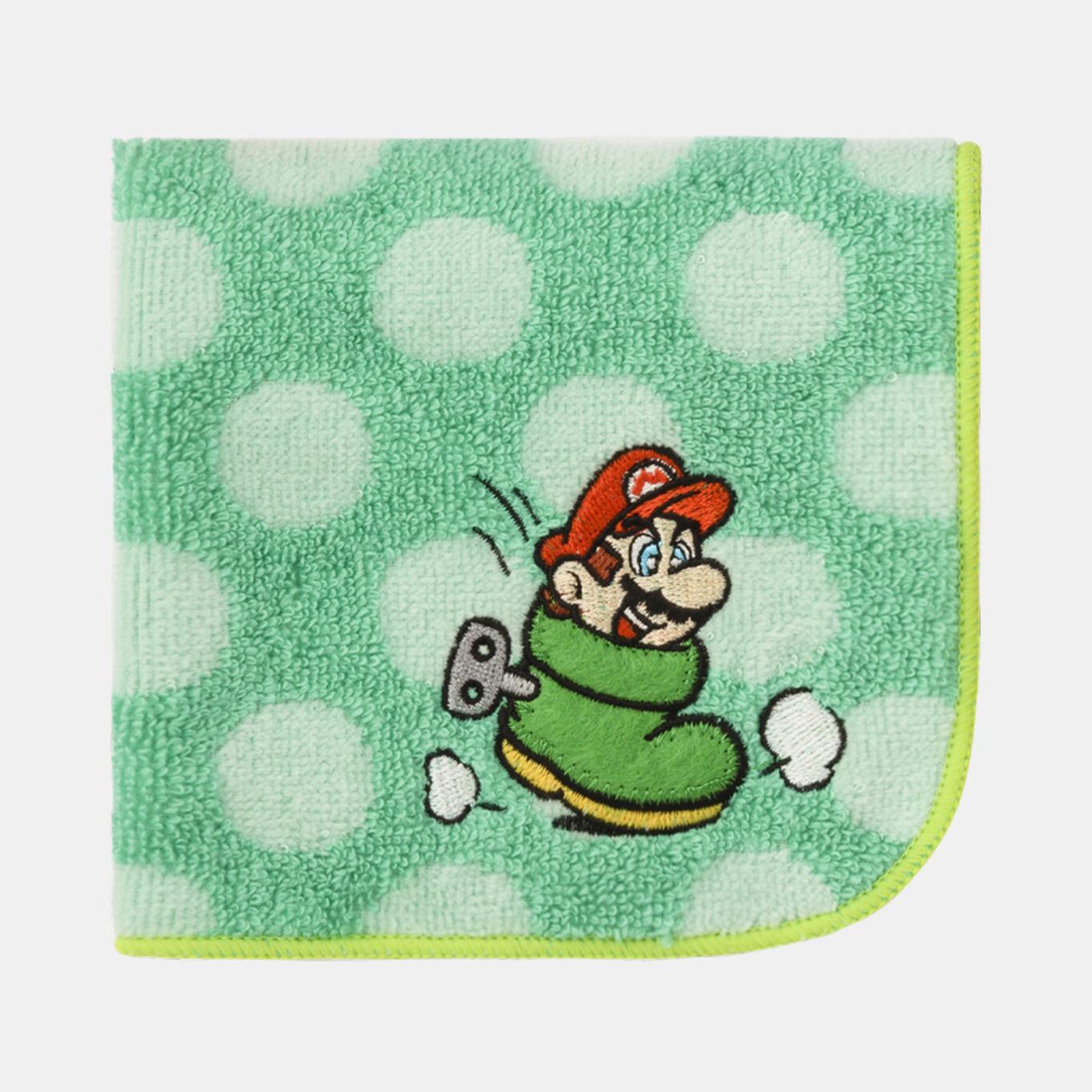 ミニタオル スーパーマリオ パワーアップ B【Nintendo TOKYO取り扱い商品】